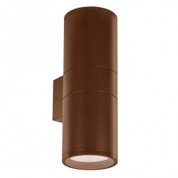 Уличный настенный светильник Ideal Lux Gun AP2 Big Coffee