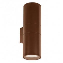 Уличный настенный светильник Ideal Lux Gun AP2 Small Coffee