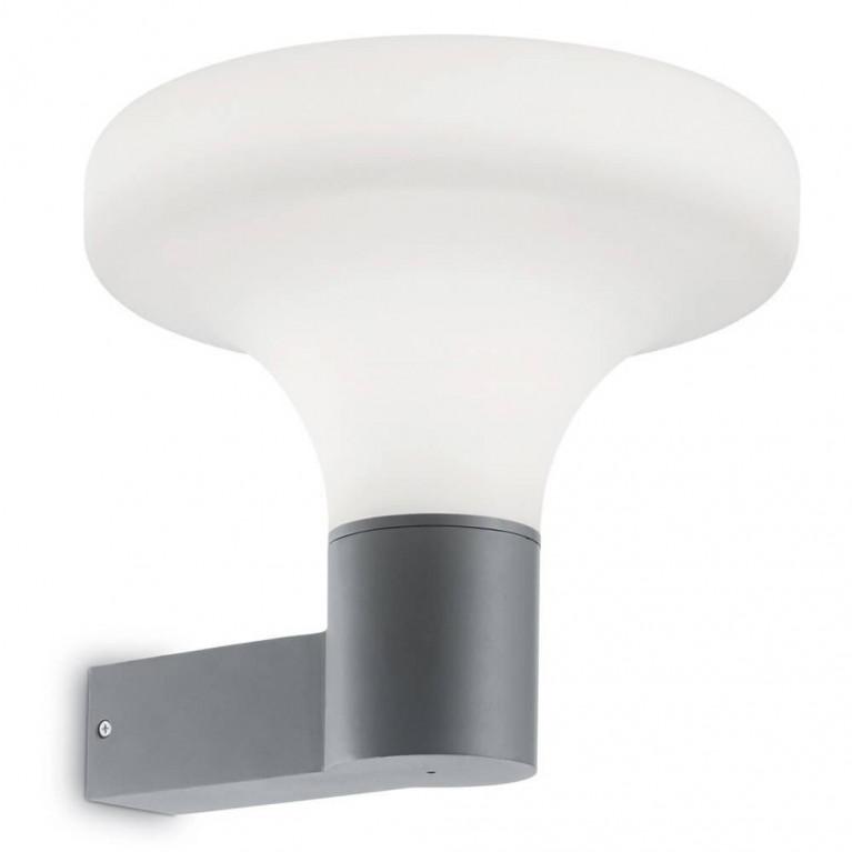 Уличный настенный светильник Ideal Lux Sound AP1 Grigio