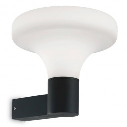 Уличный настенный светильник Ideal Lux Sound AP1 Nero