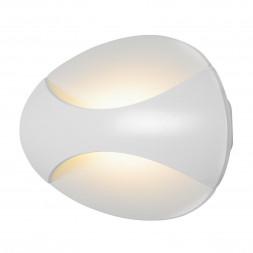 Настенный светодиодный светильник iLedex Flux ZD7151-6W WH matt white