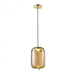 Подвесной светодиодный светильник Lumien Hall Avila LH4110/1PB-GD-AM