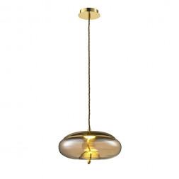 Подвесной светодиодный светильник Lumien Hall Avila LH4110/1PD-GD-AM