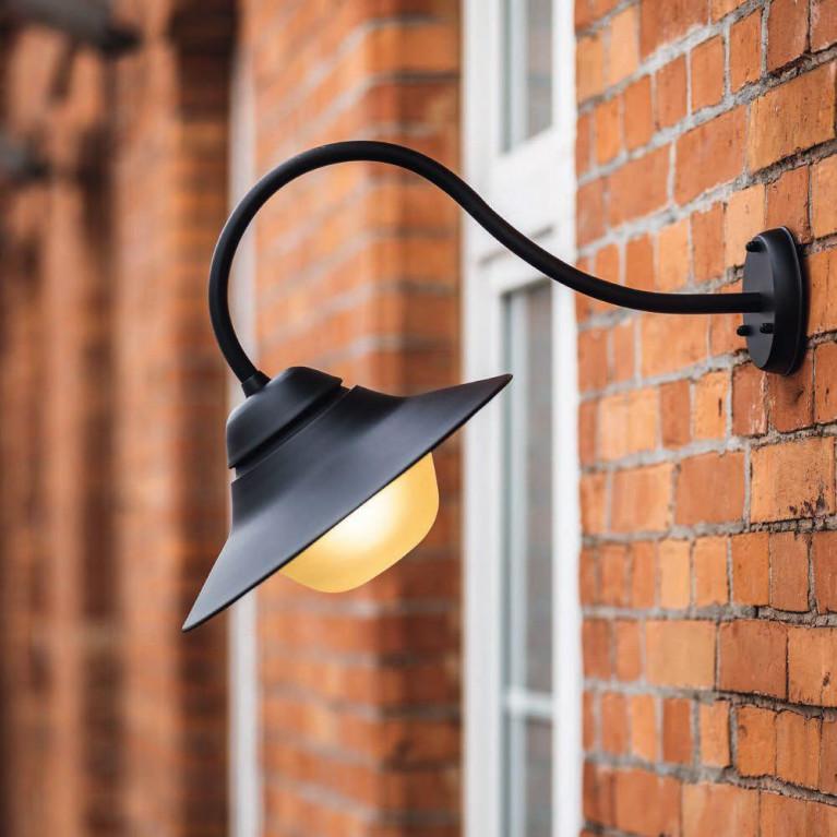 Уличный настенный светильник Nowodvorski Marina 9096
