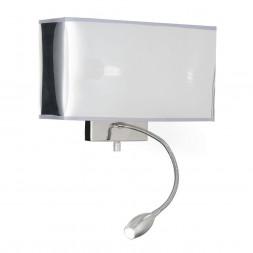 Настенный светильник Ideal Lux Hotel AP2 Cromo