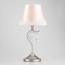 Настольная лампа Eurosvet 01022/1 серебро