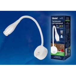 Бра (UL-00004239) Uniel ULT-F22-3W/4000K IP20 White