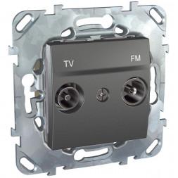 Розетка TV/FM оконечная Schneider Electric Unica MGU5.452.12ZD