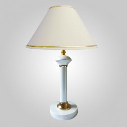 Настольная лампа Eurosvet 60019/1 глянцевый белый