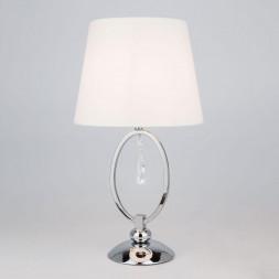 Настольная лампа Eurosvet 01055/1 хром/прозрачный хрусталь Strotskis