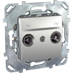 Розетка TV/FM проходная Schneider Electric Unica MGU5.453.30ZD