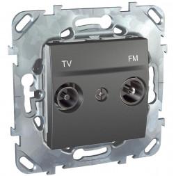 Розетка TV/FM Schneider Electric Unica MGU5.451.12ZD