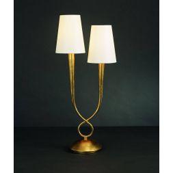 Настольная лампа Mantra Paola Painted Gold 3546