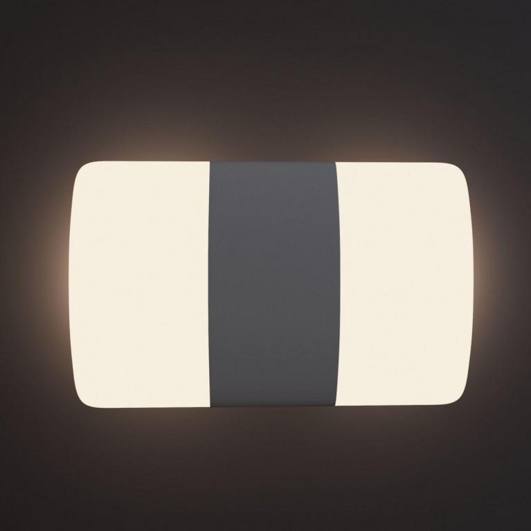 Уличный настенный светодиодный светильник Maytoni Via del Corso O006WL-L12GR