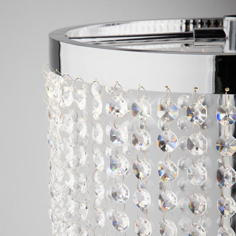 Настольная лампа Eurosvet 80412/1 хром