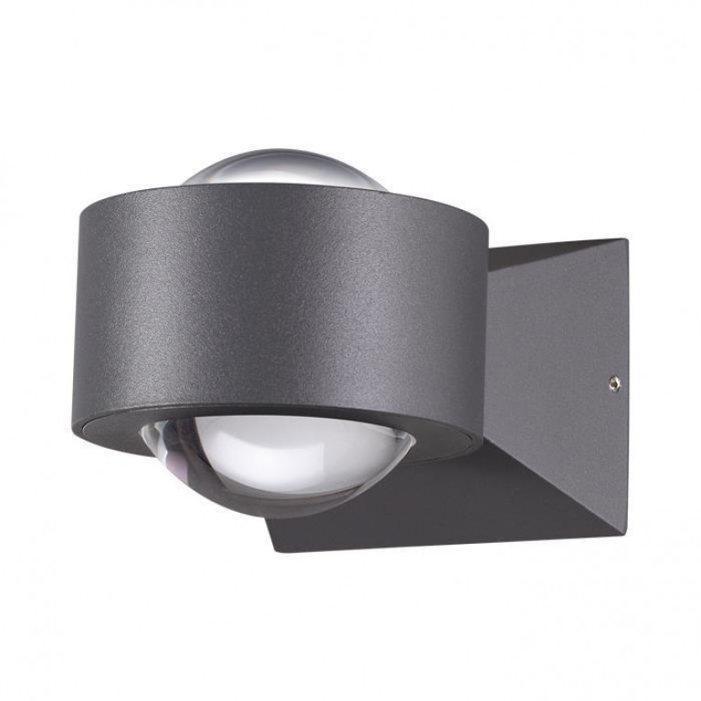Уличный настенный светодиодный светильник Novotech Calle 358154