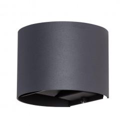 Уличный настенный светодиодный светильник Arte Lamp Rullo A1415AL-1BK