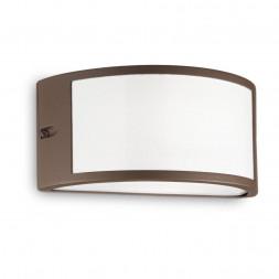 Уличный настенный светильник Ideal Lux Rex-1 AP1 Coffee