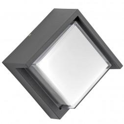 Уличный настенный светодиодный светильник Lightstar Paletto 382294