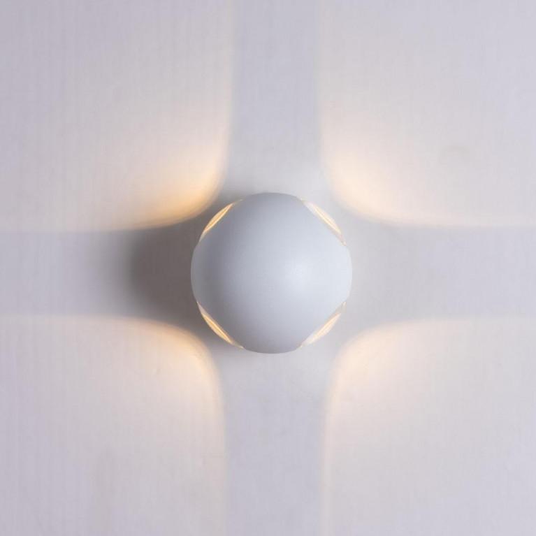 Уличный настенный светильник Arte Lamp Conrad A1544AL-4WH