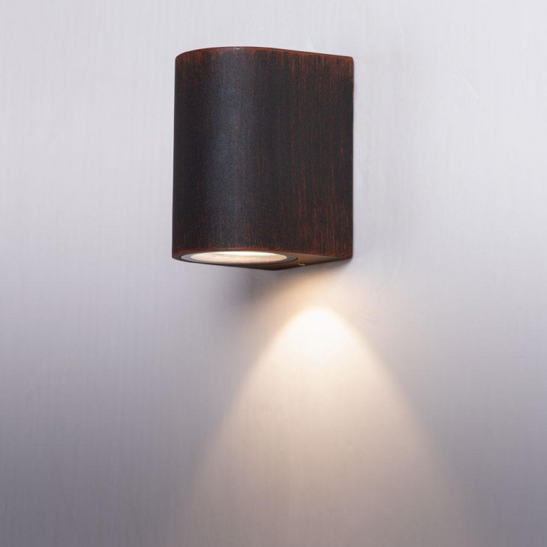 Уличный настенный светильник Arte Lamp Doppio A3502AL-1RI