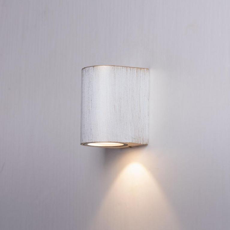Уличный настенный светильник Arte Lamp Doppio A3502AL-1WG