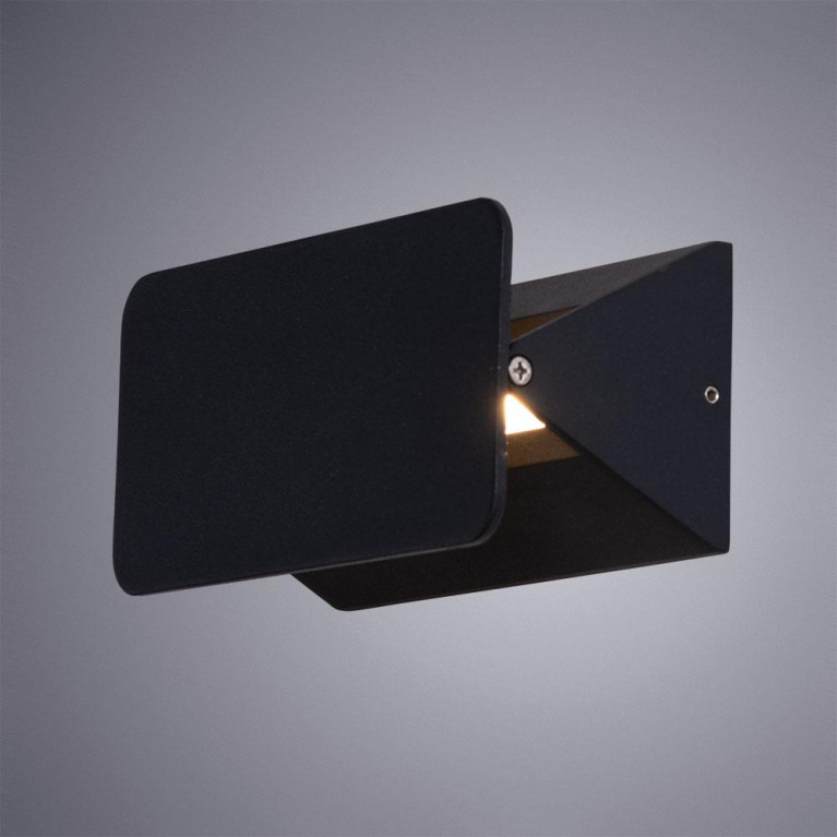 Уличный настенный светильник Arte Lamp Elvin A6164AP-1BK