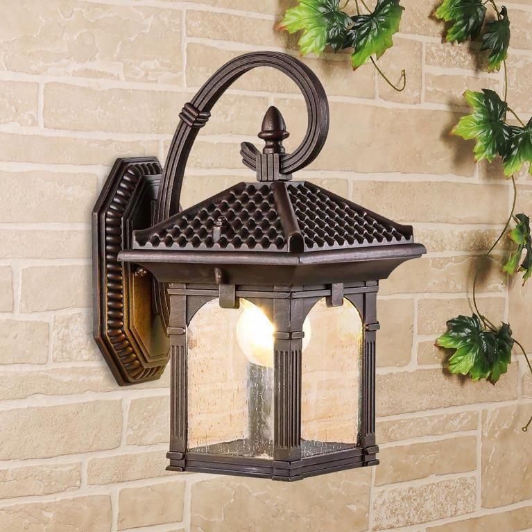 Уличный настенный светильник Elektrostandard Corvus D капучино GL 1021D 4690389138171