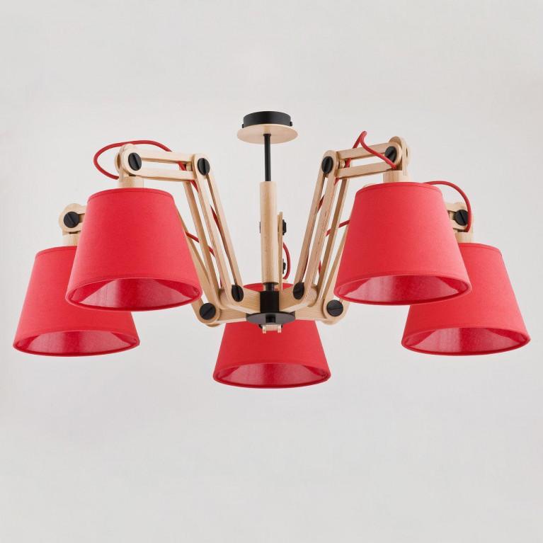 Потолочная люстра Alfa Joga Red 22245