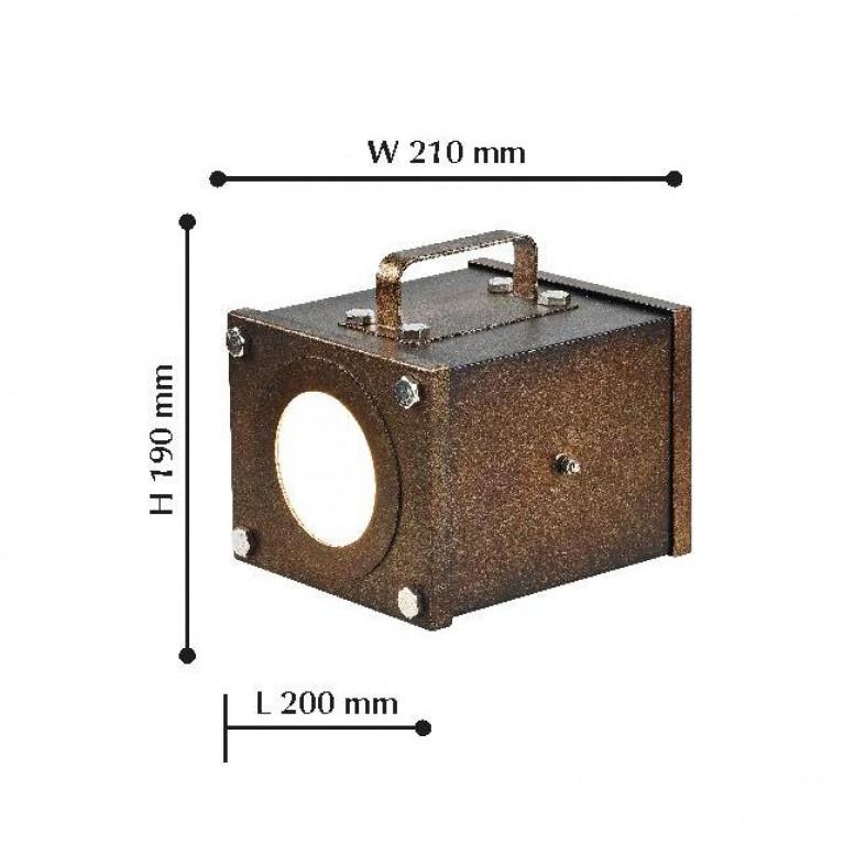 Настольная лампа Favourite Foco 2037-1T