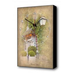 Настенные часы Французский дворик II Timebox Toplight 60х37х4см TL-C5031