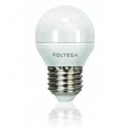 Лампа светодиодная Voltega E27 6W 2800К матовая VG3-G2E27warm6W 4722