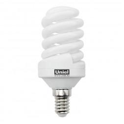 Лампа энергосберегающая (0554) E14 15W 2700K матовая ESL-S11-15/2700/E14