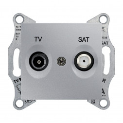 Розетка TV/SAT оконечная Schneider Electric Sedna 1dB SDN3401660