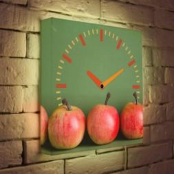 Световые часы Яблоки LB-011-35