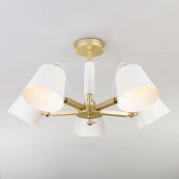 Светильник Eurosvet с поворотными рожками 70083/5 золото