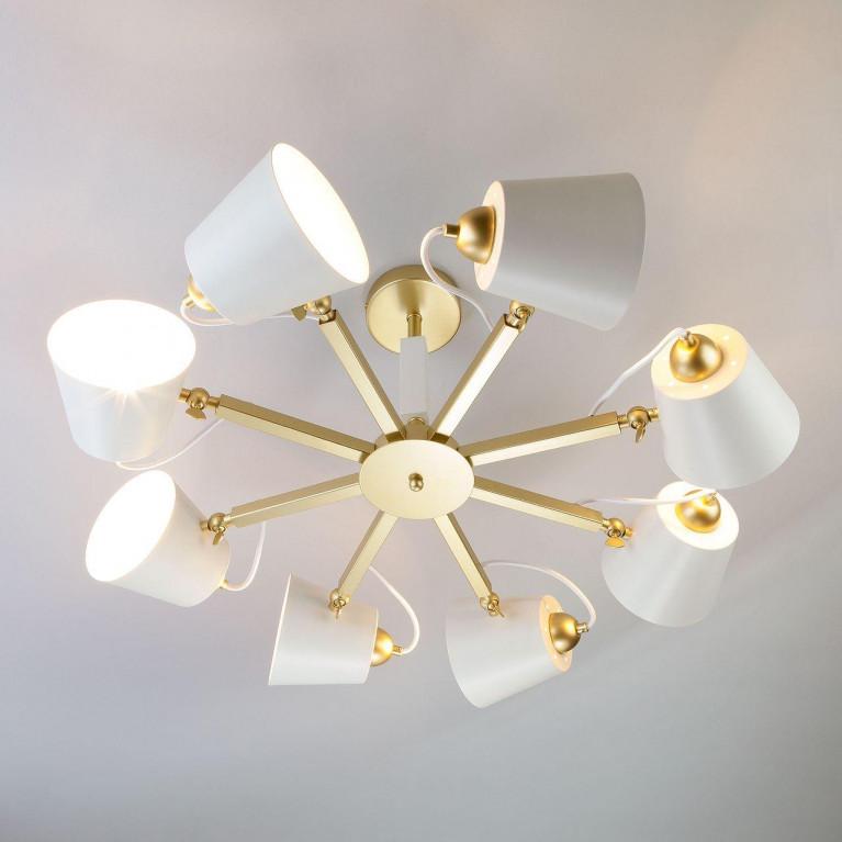 Светильник Eurosvet с поворотными рожками 70083/8 золото