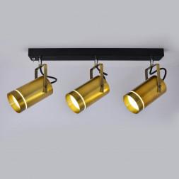 Настенный светодиодный светильник Eurosvet 20063/3 LED античная бронза