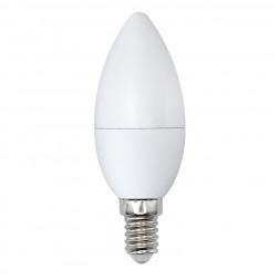 Лампа светодиодная (UL-00003803) E14 9W 4000K матовая LED-C37-9W/NW/E14/FR/NR