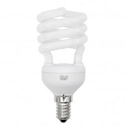 Лампа энергосберегающая (01696) E14 15W 6400K матовая CFL-S T2 220-240V 15W E14 6400K