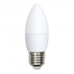 Лампа светодиодная (UL-00003806) E27 9W 4000K матовая LED-C37-9W/NW/E27/FR/NR