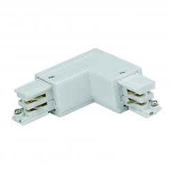 Соединитель для шинопроводов L-образный внешний (09762) Uniel UBX-A21 White