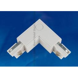 Соединитель для шинопроводов L-образный внутренний (09765) Uniel UBX-A22 White
