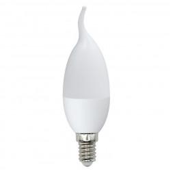 Лампа светодиодная (UL-00003808) E14 9W 4000K матовая LED-CW37-9W/NW/E14/FR/NR