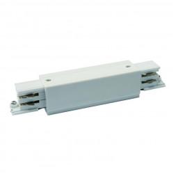 Соединитель для шинопроводов прямой внешний (09744) Uniel UBX-A12 White