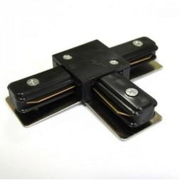 Соединитель для шинопроводов T-образный Horoz черный 096-001-0004