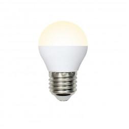Лампа светодиодная (UL-00003823) E27 7W 3000K матовая LED-G45-7W/WW/E27/FR/NR