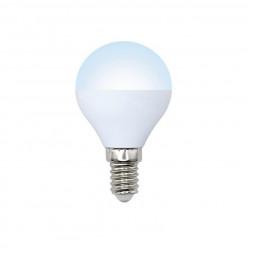 Лампа светодиодная (UL-00003825) E14 9W 4000K матовая LED-G45-9W/NW/E14/FR/NR
