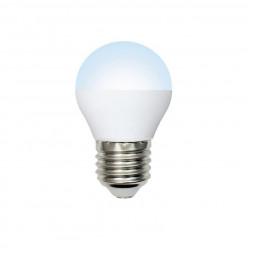 Лампа светодиодная (UL-00003827) E27 9W 6500K матовая LED-G45-9W/DW/E27/FR/NR