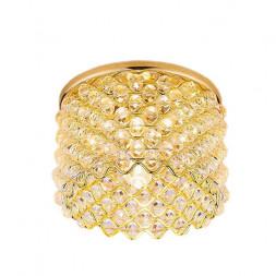 Встраиваемый светильник Ambrella light Crystal D9060 G/CL